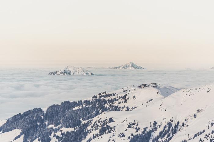 skiing heaven