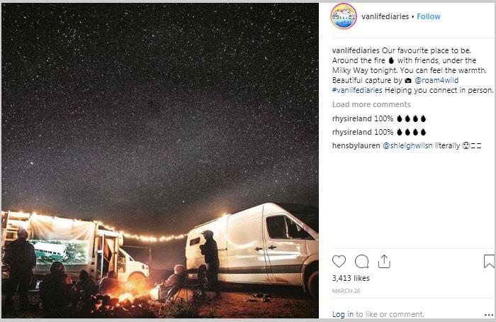 campfire van lifers