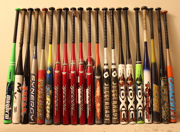inventory picture of the softball bat side hustle
