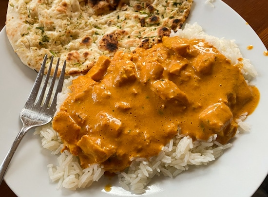 butter chicken at home