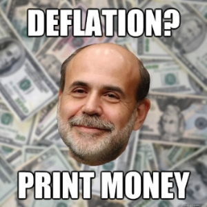 the fed's answer to deflation