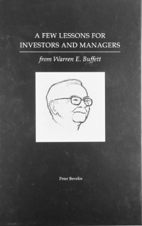 a few lessons for investors and managers peter bevelin