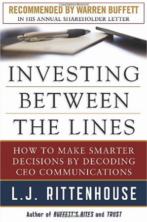 investing between the lines by lj rittenhouse