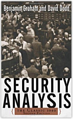 security analysis by benjamin graham