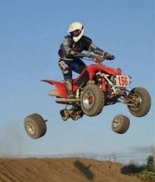 wheels off
