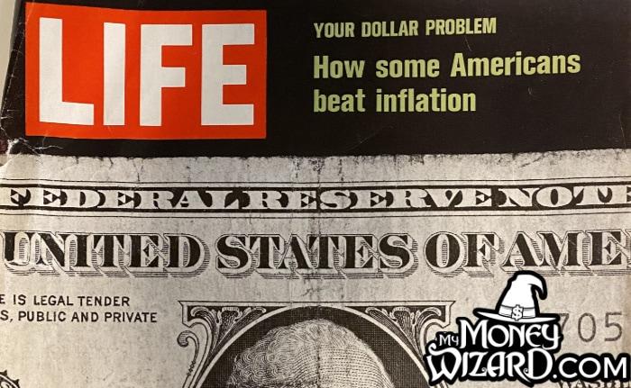 vintage life magazine inflation 1970